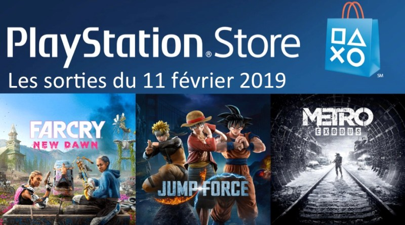 MAJ Playstation Store 11 fevrier