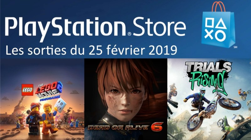MAJ Playstation Store 25 février