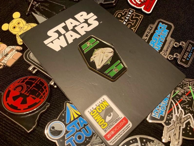 nouveaux pin's Han Solo collector - 4