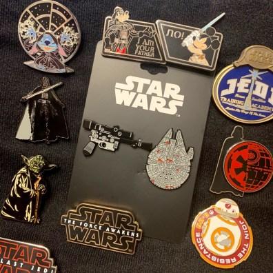 nouveaux pin's Han Solo collector - bonus