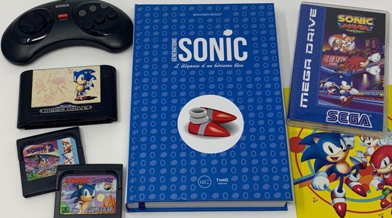 Avis Livre Générations SONIC Third éditions