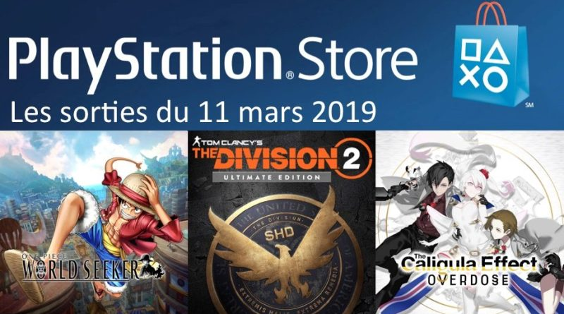 MAJ Playstation Store 11 mars