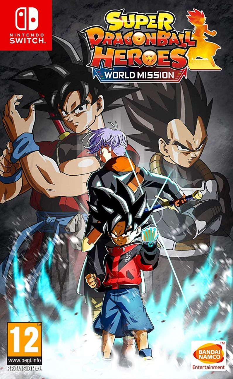 Super Dragon Ball Heroes World Mission Switch