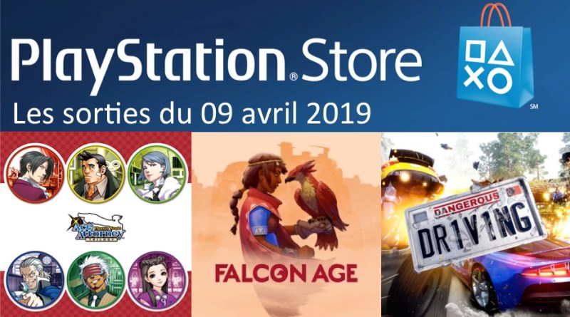 MAJ Playstation Store 09 avril