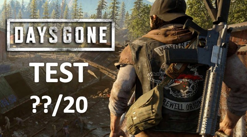 Test Days Gone PS4 - Gouaig