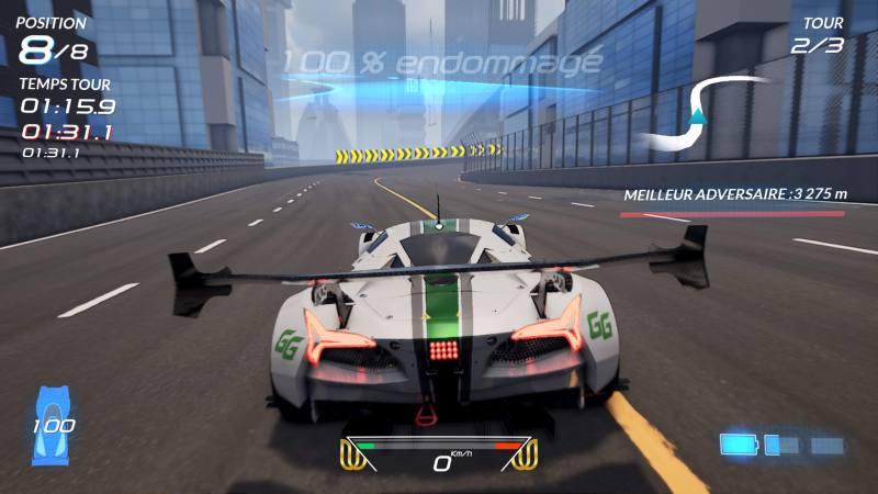 test xenon racer