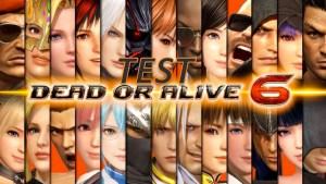 test dead or alive 6 - Gouaig