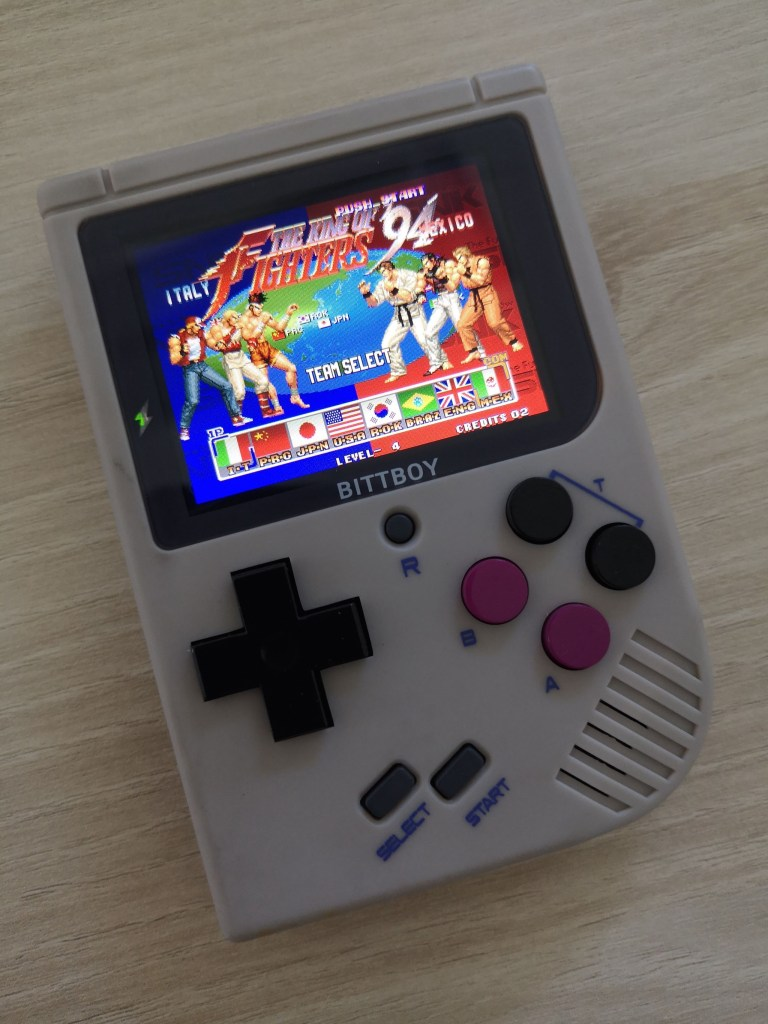 test bittboy retrogaming