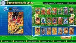 cartes dragon ball heroes