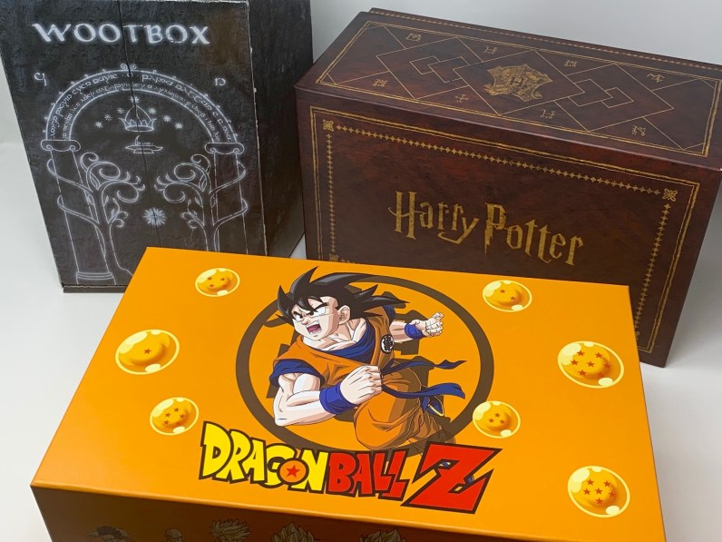 unboxing wootbox DBZ
