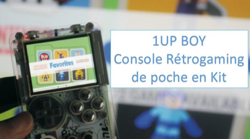 1UPBoy Console retrogaming de poche en kit - gouaig