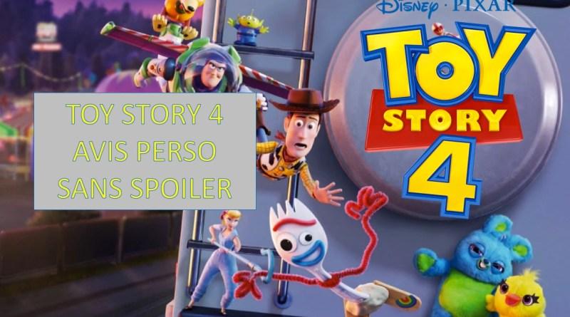 Toy Story 4 avis sans spoiler - Gouaig