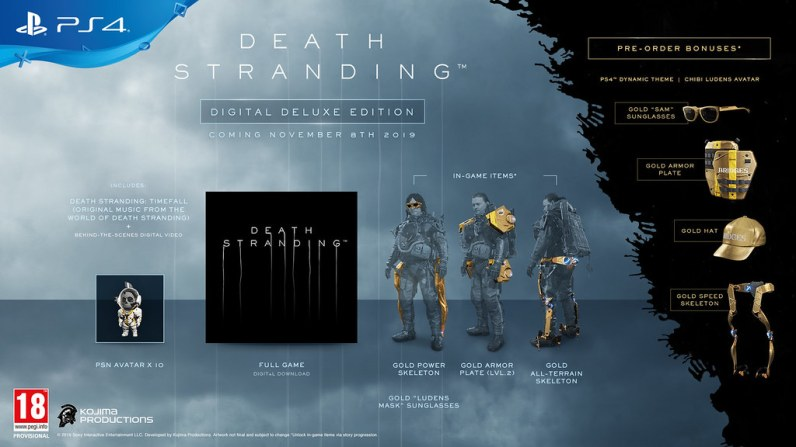 digital deluxe death stranding