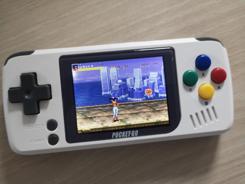 Test PocketGo Console retrogaming