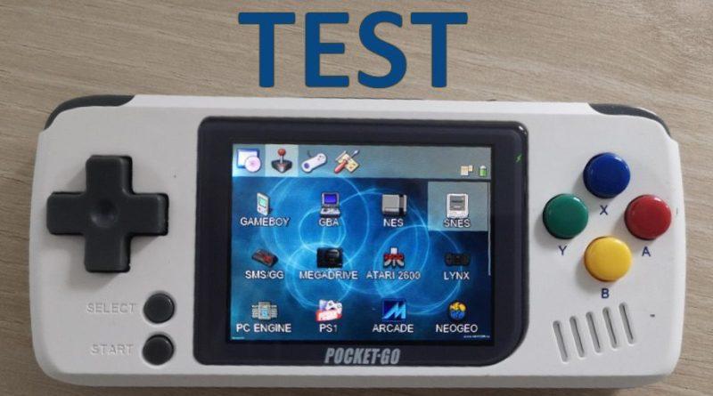 Test PocketGo Console retrogaming - gouaig