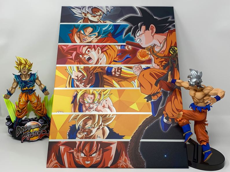 Unboxing Poster métallique Dragon Ball