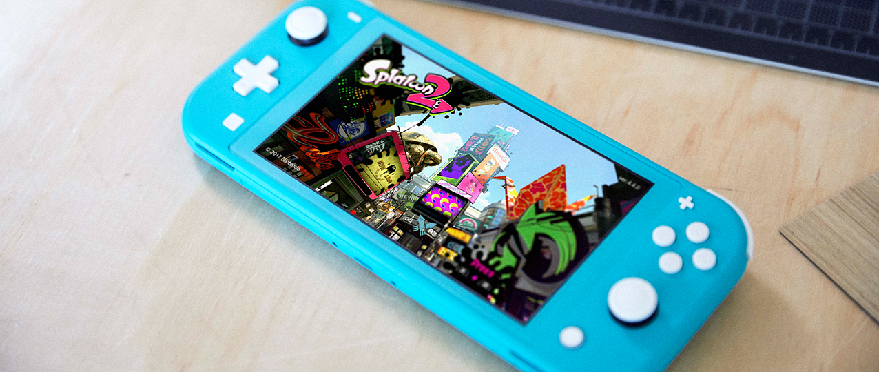 switch lite splatoon 2