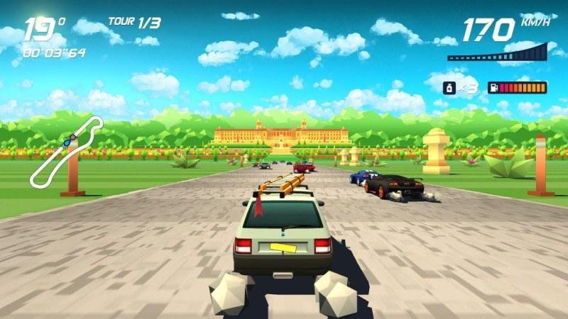 Test Horizon Chase Turbo