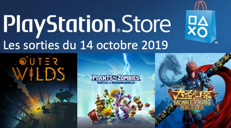 MAJ Playstation Store 14 octobre