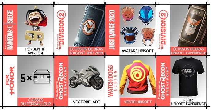 Bonus Ubisoft
