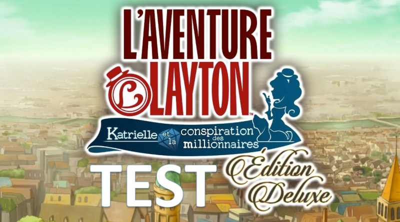 Test l aventure Layton Edition Deluxe Switch