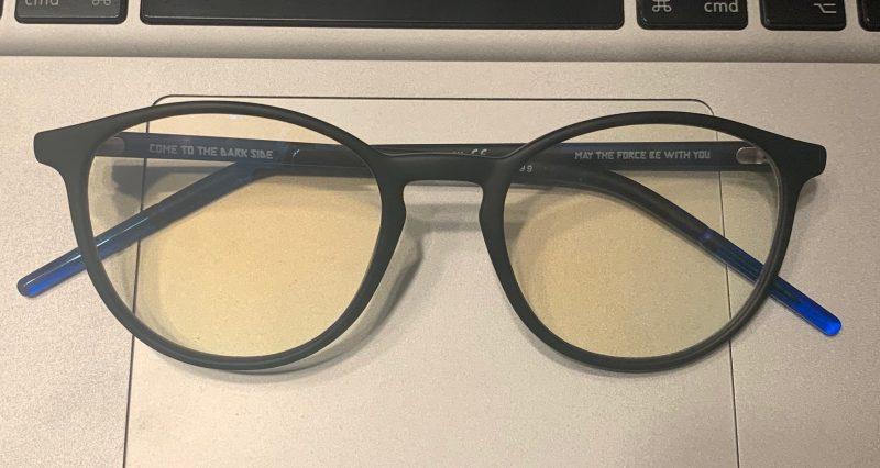 lunettes anti lumière bleue OPAL star wars