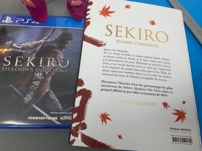Avis Manga Sekiro Mana books 2