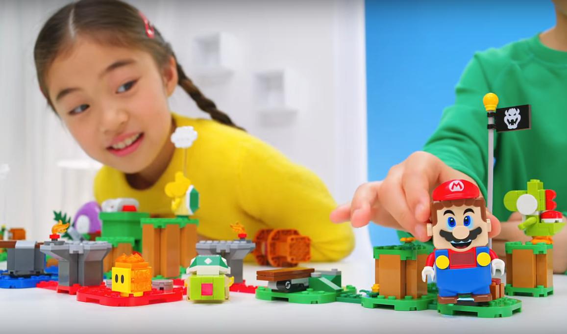 LEGO super mario Nintendo