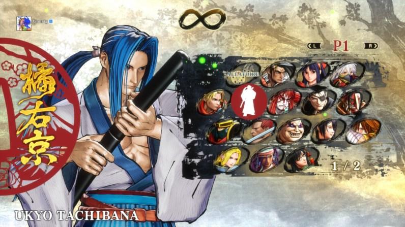 Roster Samurai Shodown Switch