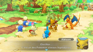 Test Pokémon Donjon Mystère Equipe de secours DX