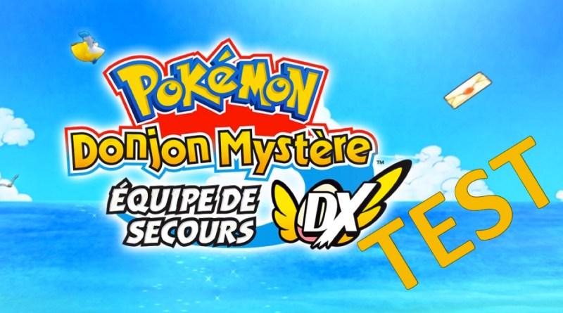 Test Pokémon Donjon Mystère- Equipe de secours DX