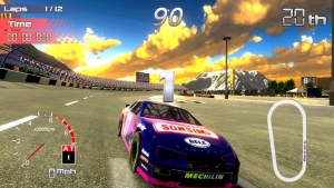 test speedway racing