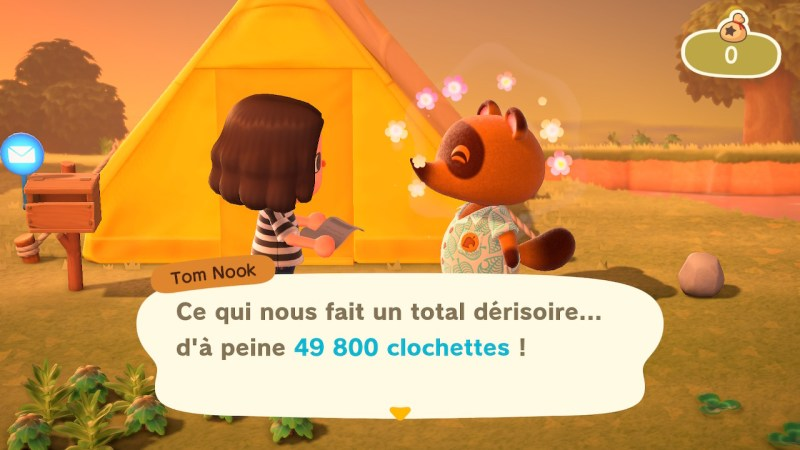 Test Animal Crossing New Horizons
