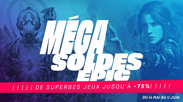 Epic Games Mega Soldes 2020