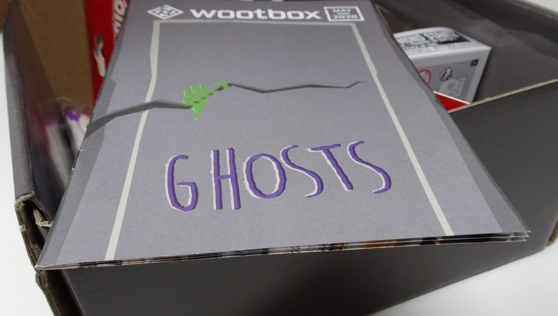 unboxing Wootbox mai 2020 Ghosts