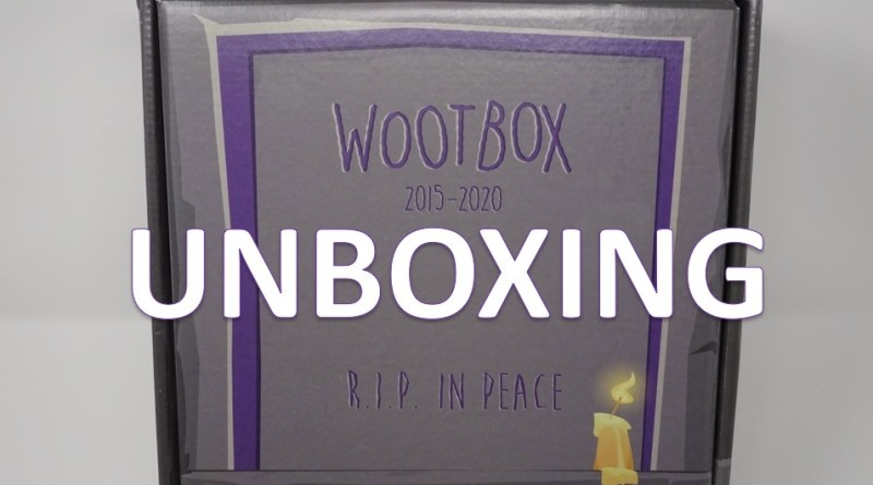unboxing wootbox mai 2020 gouaig