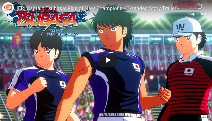 Mode histoire Captain Tsubasa Rise of New Champions