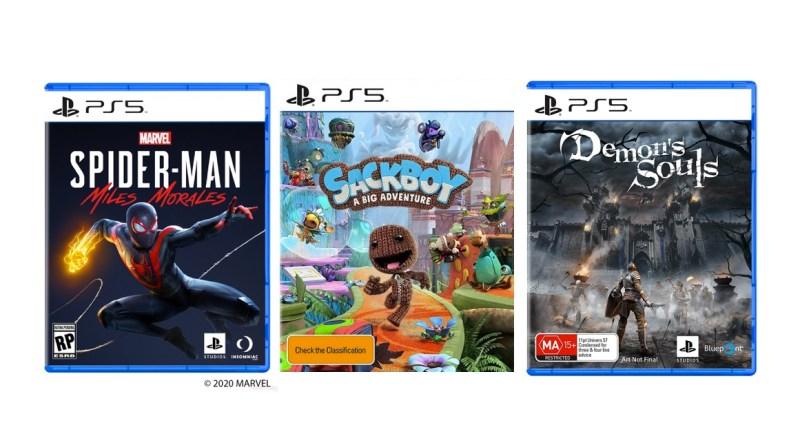 jeux lancement PS5