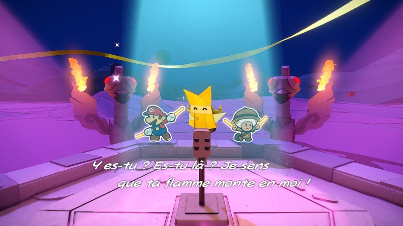 Test Paper Mario The Origami King