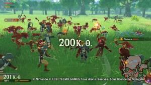 Test Hyrule Warriors: L'ère du fléau Switch
