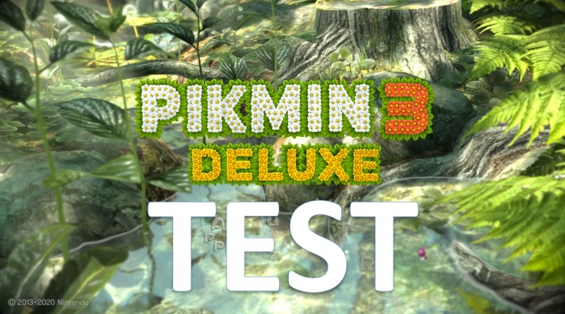 Test Pikmin 3 Deluxe Switch GOUAIG