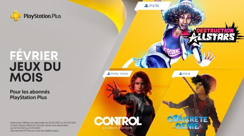 PlayStation Plus - Février 2021
