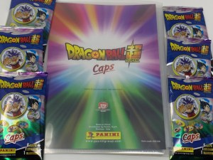 CAPS Dragon Ball Super Panini