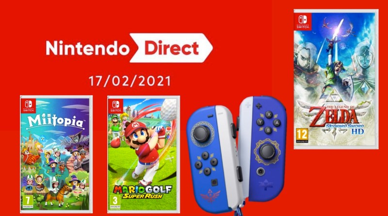 Résumé Nintendo Direct