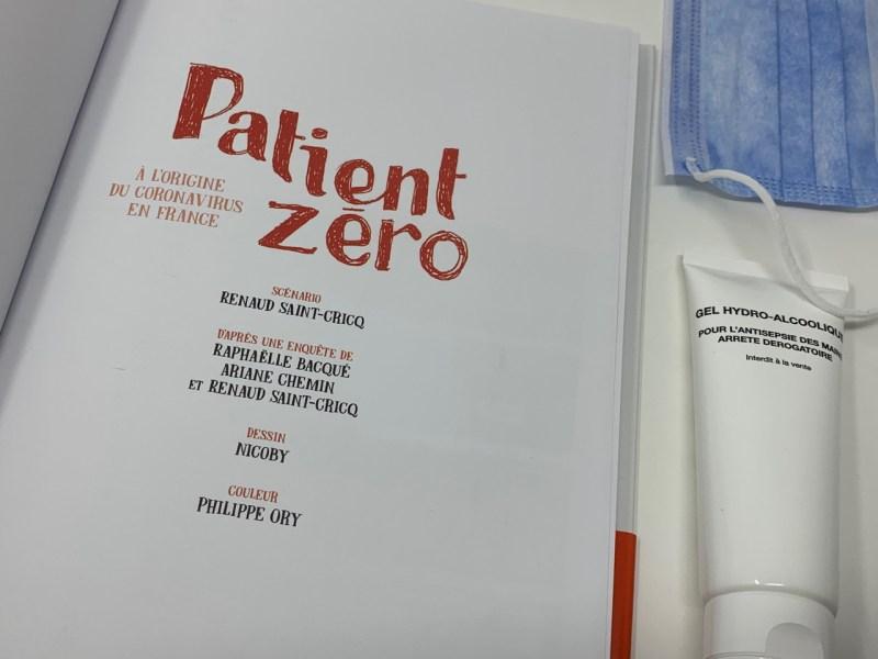 BD Patient zero Glénat