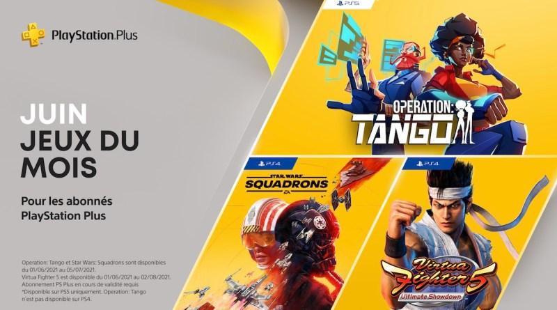 PlayStation Plus - Juin 2021