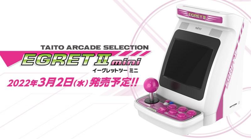 Taito Egret II mini arcade