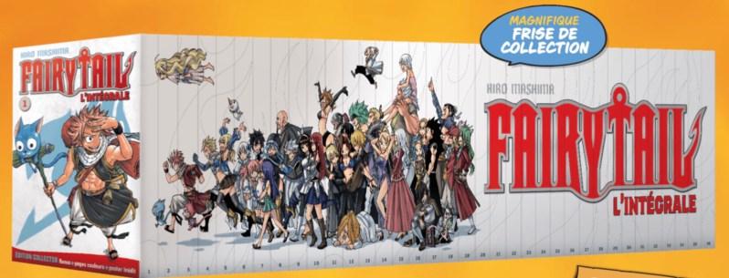 Frise manga Fairy Tail
