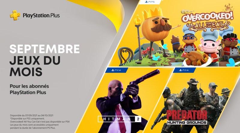 PlayStation Plus - Septembre 2021