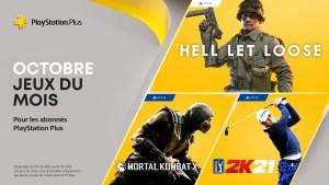 PlayStation Plus - Octobre 2021
